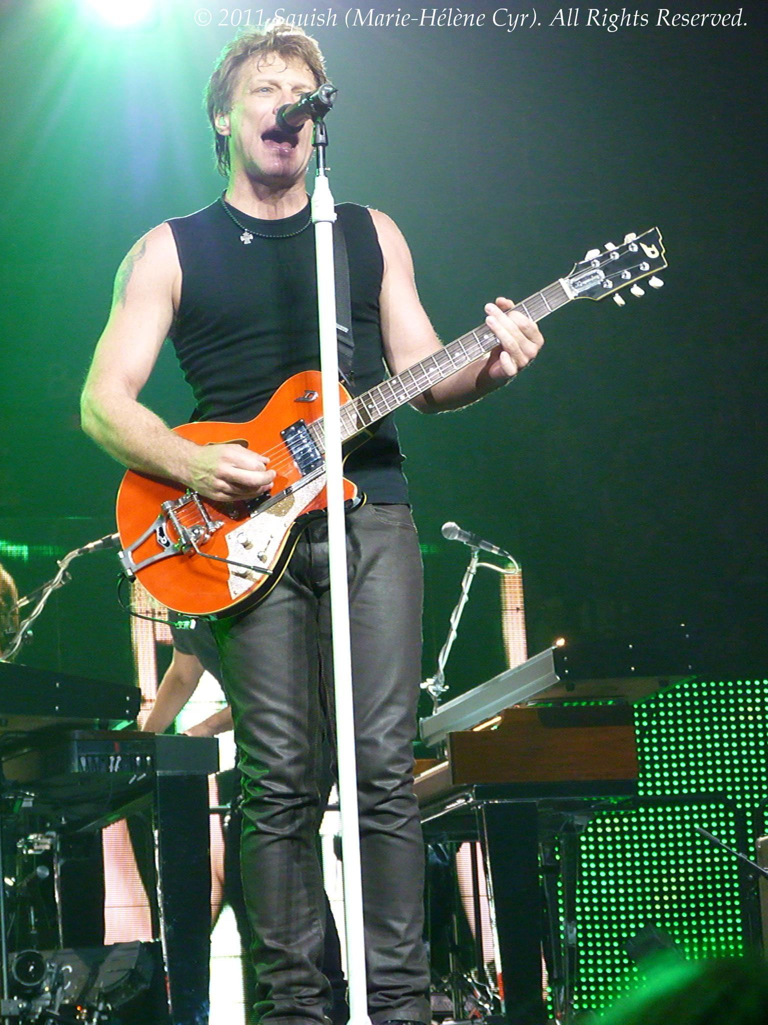 Bon Jovi - Centre Bell, Québec, Canada (4 mai 2011)